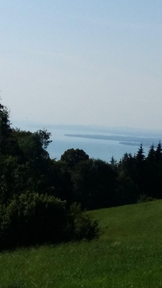 Blick von Pfänder auf Bodensee