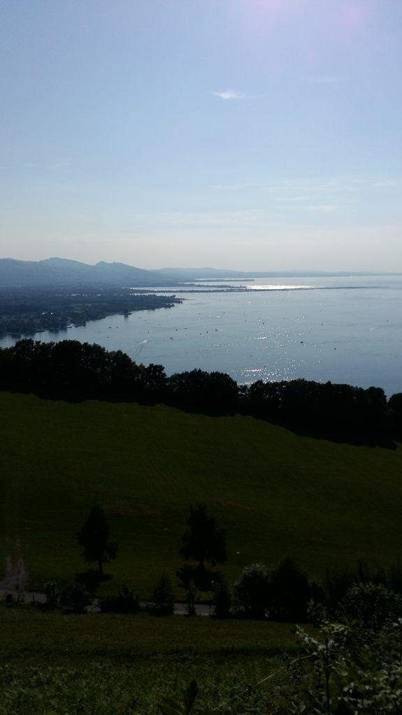 Blick vom Pfänder auf den Bodensee